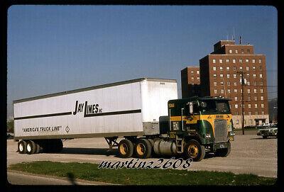 ORIG. TRUCK / SEMI-TRUCK SLIDE  JAY LINES