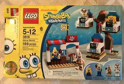 LEGO 3816 Spongebob Glove World 169 pcs 100% Complete w/Original Box Instruction
