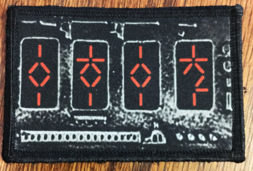 PREDATOR Movie  AUTODESTRUCTION Device Morale Patch  Tactical ARMY Hook Military