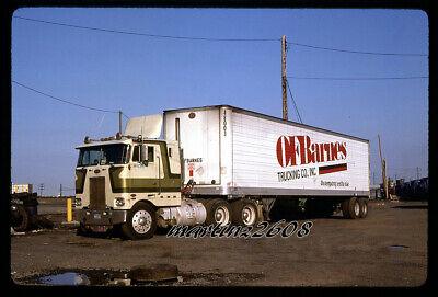 ORIG. TRUCK / SEMI-TRUCK SLIDE  O.F. BARNES TRUCKING