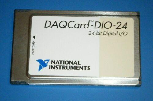 NI DAQCard-DIO-24, 24-Bit Digital IO for PCMCIA, National Instruments *Tested*
