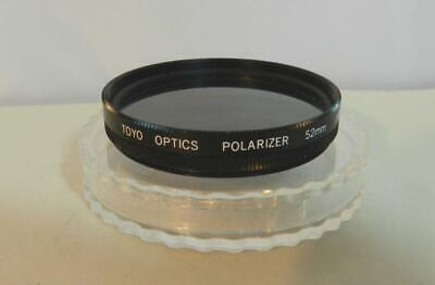 Toyo Optics 52mm Polarizer Camera Lens Filter + Plastic Case (Test Polarized Lenses)