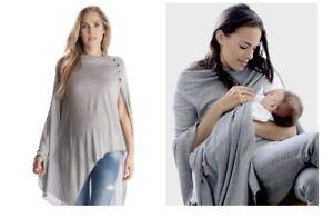 Seraphine bamboo breastfeeding shawl