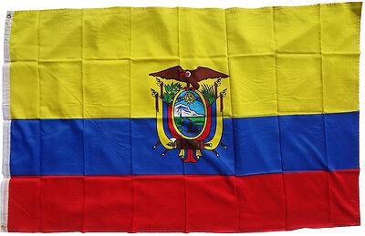 Bandiera Ecuador 90 x 150 cm sollevamento tempesta WM Coppa del mondo