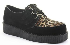 Truffle Lace Up Shoes 5 Flats Brogues Brothel Creepers Rockabilly Steampunk Goth