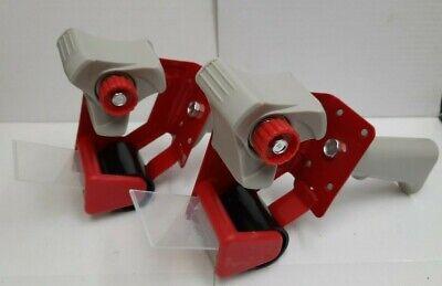 2 Inch Portable Packaging Tape Gun Dispenser Carton Sealing Cutter - 2pcs Lot