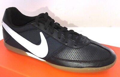 NIKE Davinho Men's Indoor Soccer Shoes  580452-010  Black/White Sizes 8-15  (Nike Black And White Indoor Soccer Shoes)