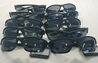 Wholesale Lot of 10 pairs - Designer Inspired Sunglasses Black Wrap  New - Wholesale Black Sunglasses