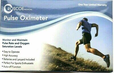 Roscoe Medical - Fingertip Pulse Oximeter - New