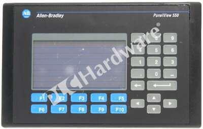 Allen Bradley 2711-b5a2 C Panelview 550 Monotouchkeydh-485 Make Offer
