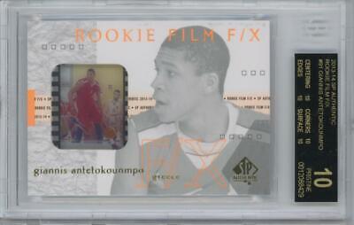 2013 SP Authentic Rookie 91 Giannis Antetokounmpo RC Pristine Black Label BGS 10