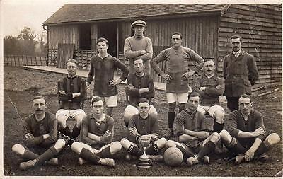 Unused RP old pc Football Team by W J Waller Horsham