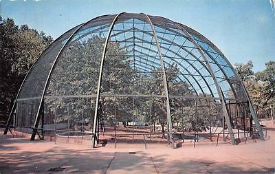 ST LOUIS, MO  Missouri     ST LOUIS ZOO    World's Largest Bird Cage    Postcard