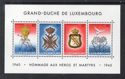 LUXEMBOURG MNH 1985 MS1160 40TH ANV OF V.E. DAY