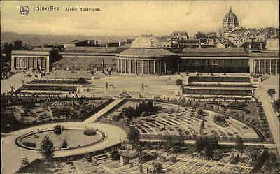 1916 Feldpostkarte Westfront Belgien CPA Bruxelles Brüssel Jardin Botanique