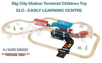 Big City Station Terminal - Kids / Children Toy - ELC - EARLY LEARNING CENTRE