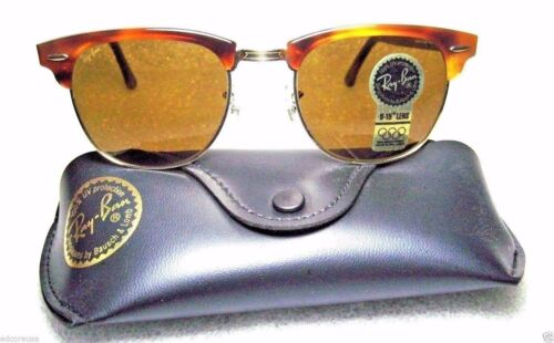 Ray-Ban USA NOS Vintage B&L Wayfarer Clubmaster II W1117 New In Box Sunglasses