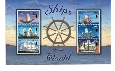 Turks and Caicos - 2002 - Ships of the World - Sheet of Six - MNH