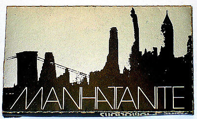 Vintage Collector Cigarette Rolling Paper Manhattanite Joint Promotions Usa