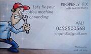 Saeco coffee machine service repair Melbourne CBD Melbourne City Preview