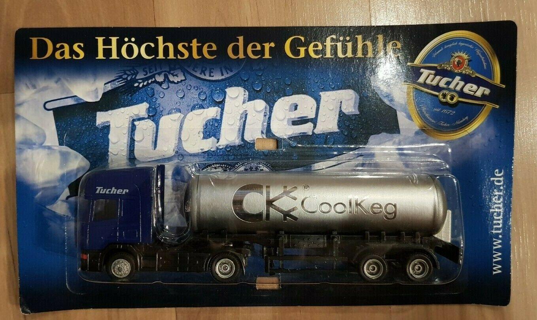 Tucher CoolKeg Modell LKW Truck Sammeltruck OVP Werbetruck