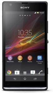 SONY XPERIA SP C5306 UNLOCKED FIDO TELUS BELL ANDROID WIFI TOUCH HSPA 3G GSM SCRATCH RESISTANT SCREEN  CAMERA VIDEO