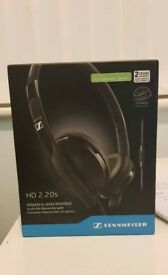 Sennheiser HD 2.20s Headphones (Sealed)