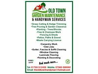 Old town garden maintenance and handyman services