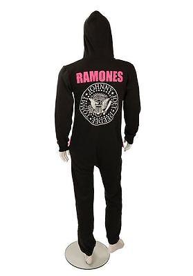 Ramones Onesie / Adult Jumpsuit (onesies for men, mens punk onsie) not gerber