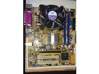 INTEL MOTHERBOARD DG41WV Intel core duo 2 E8500 3.16