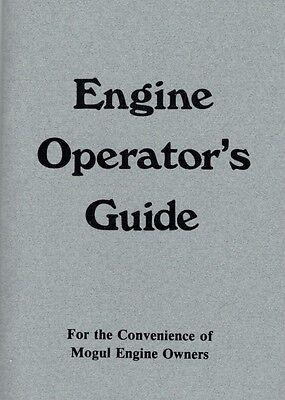 International Mogul Gas Engine Motor Operator's Guide Manual Book