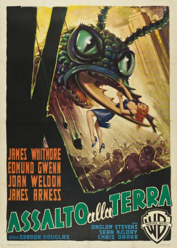 THEM! Movie POSTER 27x40 B James Whitmore Edmund Gwenn Fess Parker James Arness