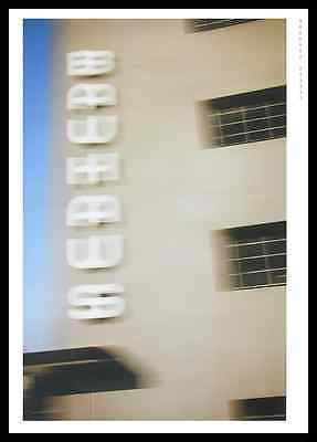 Olaf Kolehmainen Imageplakat Schriftzug Poster Bild Kunstdruck & Rahmen 59x84cm