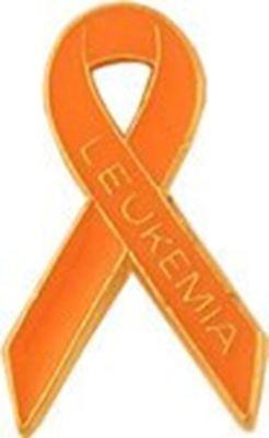 K28 Leukemia Awareness Ribbon Lapel Pin](Leukemia Awareness Ribbon)