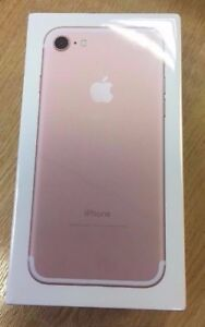 Apple iPhone 7 128gb Rose gold sealed in the box