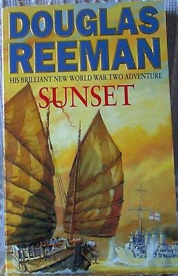 SUNSET, Douglas Reeman, UK pb 1995 (9780330340243)