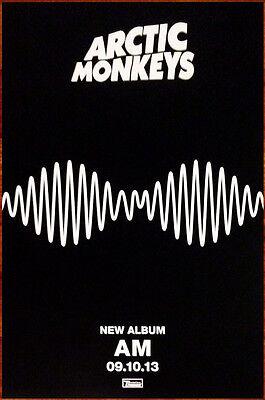 ARCTIC MONKEYS AM Ltd Ed Discontinued NEW RARE Poster +FREE Alt Rock Poster!