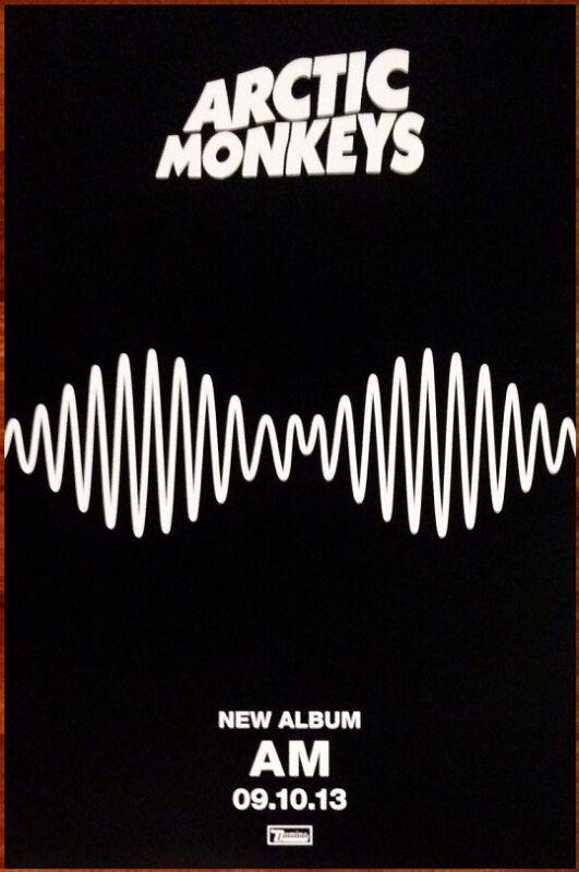 ARCTIC MONKEYS AM Ltd Ed NEW RARE Tour Poster Display +BONUS Alt Rock Poster!