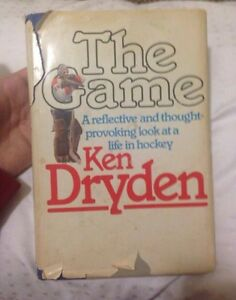 Ken Dryden the game autographed Montreal Canadians