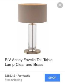 RV Astley Table Lamps RRP £285