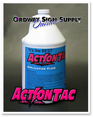 Action Tac ReadyToUse Vinyl Decal Application Fluid  Oz Quart - Custom vinyl decal application fluid