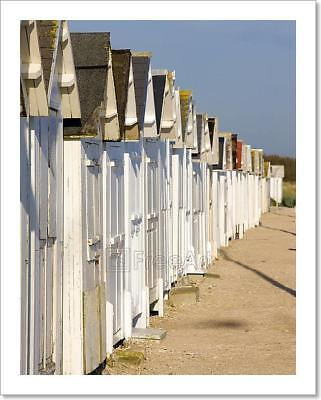 Huts On The Beach Art Print Home Decor Wall Art Poster - (Hut On The Beach)