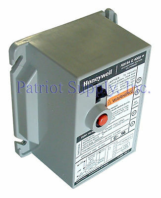 New Oem Honeywell R8184g4009 Protectorelay Oil Burner Control 45 Second