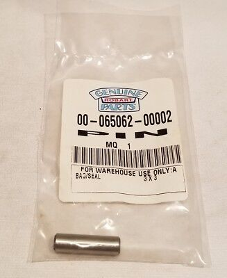 Hobart Pin Dowel For A120 Mixer Quantity 1 New Old Stock Oem 00-065062-00002
