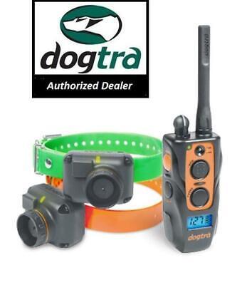 Dog Beeper Collar - Dogtra 2702 T&B Remote 2 Dog Trainer + Beeper Collar System Train & Beep 1 Mile