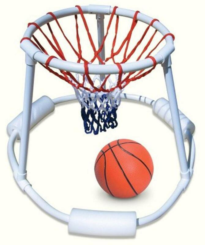 Swimming pool basketball ebay for How to build a basketball goal