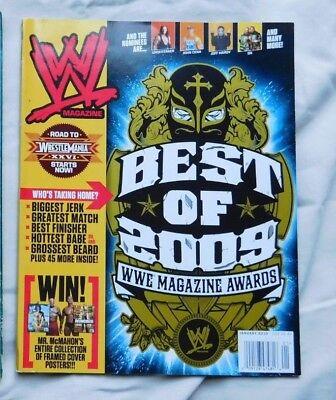 WWE MAGAZINE January 2010 BEST OF 2009 WWE MAGAZINE AWARDS