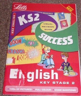 Key Stage 2 ENGLISH SUCCESS GUIDE Letts Educational Paperback 2001 Visual Revise segunda mano  Embacar hacia Argentina