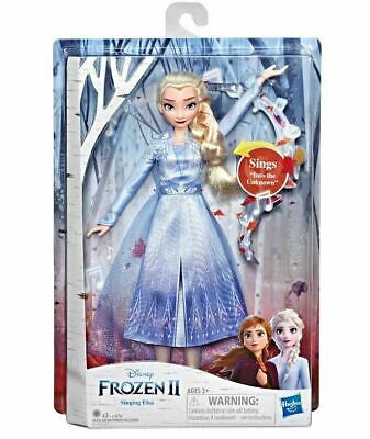 Disney Frozen 2 II Music Singing Elsa Doll Light Up Dress - FREE SHIPPING