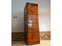Antique Edwardian Chest of Drawers Filing Cabinet c1900